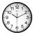 zwart wit klok wijzers cijfers wandklok uurwerk horloge  secondenwijzer