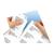 a4 plak visitekaart wit papier klevend naamkaartjes gegevens scheuren